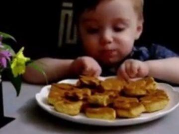 Детское печенье - фото