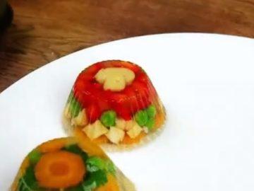 Вегетарианский холодец - фото