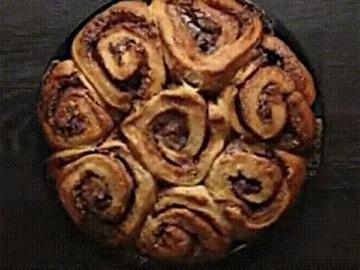 коричный пирог